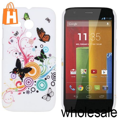 Beautiful Butterfly Protective Anti-scratch Back Cover PC Hard Case for Motorola XT1032