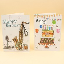 Wholesale cheap new design paper birthday <strong>cards</strong> voice recording <strong>card</strong> happy birthday musicgreeting <strong>card</strong> with sound chip