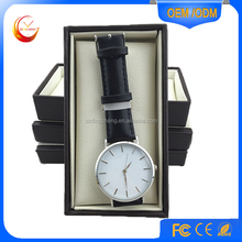 Good quality leather strap DW new style watch 40mm unisex design 5 atm waterproof, lady watch