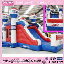 Inflatable remax combo Jumping bouncy slide Air house