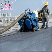 water tank cleaning machine with dust collection system China manuacturer/road shot blasting machine