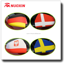 NX FLAG promotional advertising fitted car side mirror cover for sale