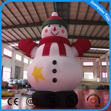 Guangqian Inflatable Character Toys Inflatable Christmas Cartoon Inflatable Snowman