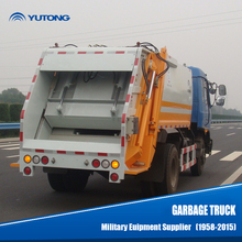 China Yutong Rear loader garbage truck manufacturers for sale