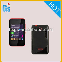 Soft S-line TPU Cover Case For Nokia Asha 230