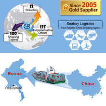 logistics forwarder sea freight shipping container service to myanmar yangon
