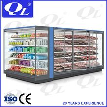 Multideck Open Type Fridge for dairy product cheap sliding doors