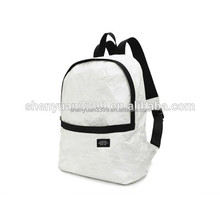 2016 China supplier waterproof school bags for girls,portable tyvek paper backpack,Eco- friendly school backpack