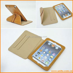PU Case for iPad mini in high quality , Hot briefcase design hard protective PU case