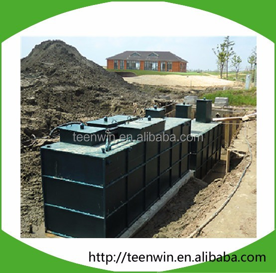 Teenwin hospital sewage water pollution treatment