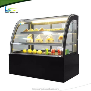 New style table top commercial counter cake display refrigerator fridge