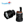 3800 lumen tactical best cree led flashlight with 3pcs 26650 battery
