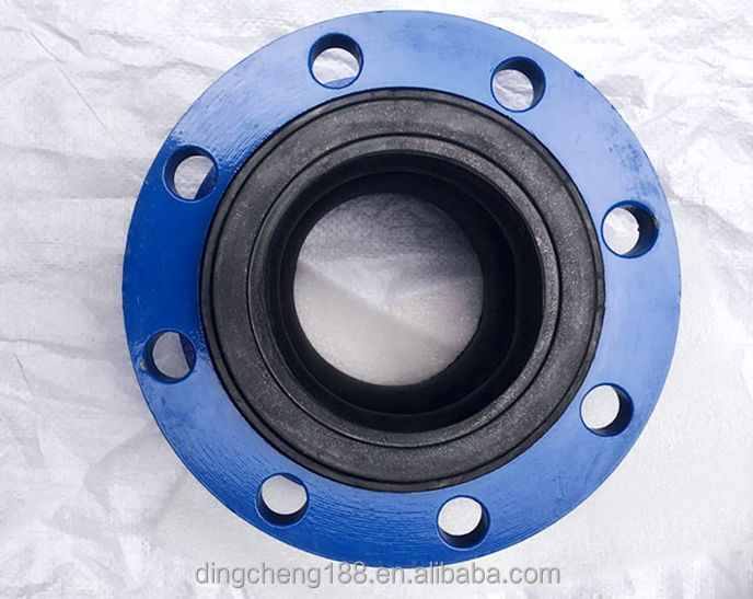 Dn150 Pn16 Nbr Rubber Bspt Union Flange Type Rubber Expansion Joint