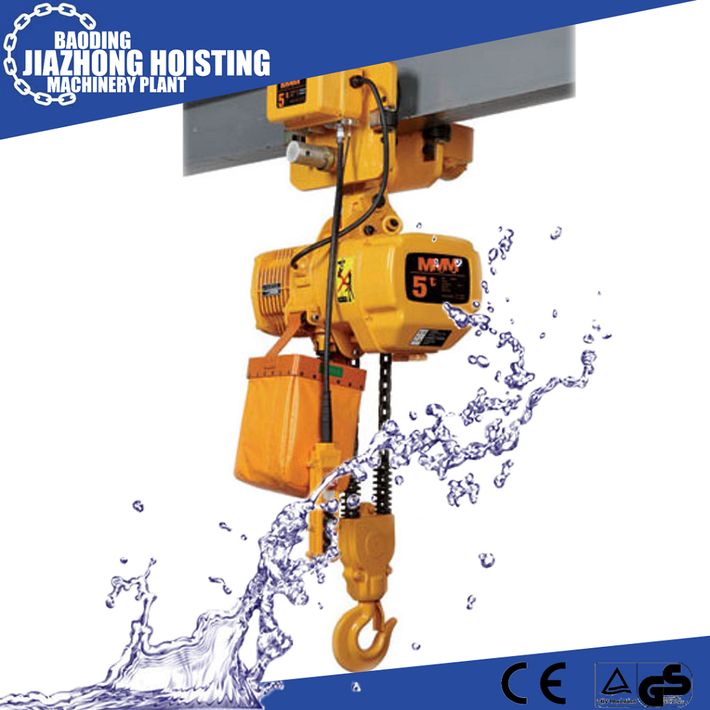 High Quality Electric Chain Hoist With Low Headroom Model Number: DHP