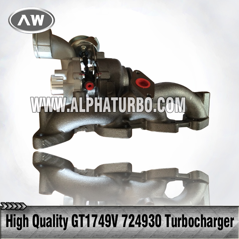 Good performance best price for Audi vehicles turbocharger/turbo GT1749V 724930