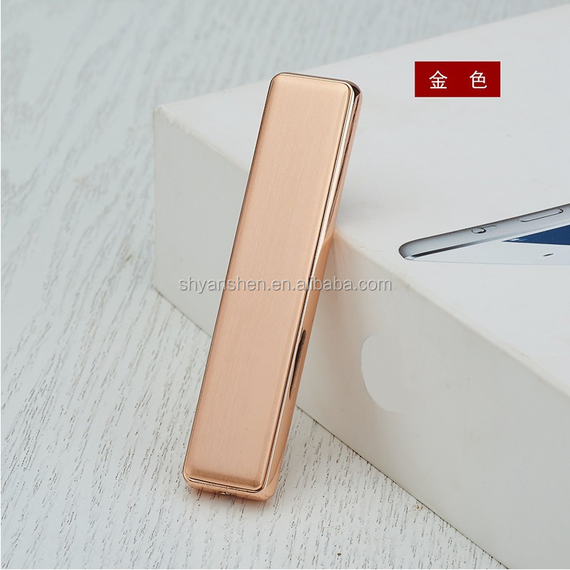 The new USB fancy anti-wind electronic cigarette lighter easy light cigarette lighters wholesale
