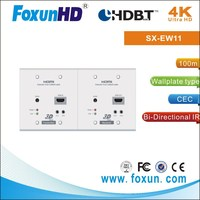 hdmi extender HD base T Extender 100m Wall Plate over one Cat5e cable