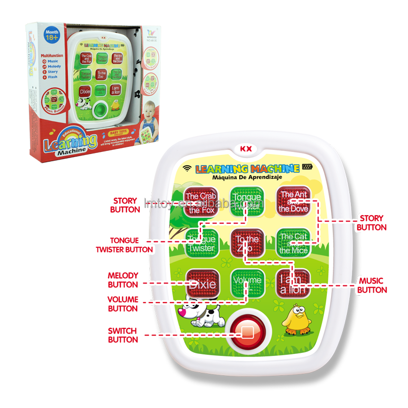 Kids educational Ipad learning machine