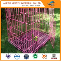 Strong and Durable pink dog crates