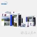 Detian Offer 20ft affordable aluminum stand display exhibition booth