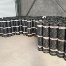 Roof Membrane HDPE Self-adhesive Cross Laminated Waterproof Tar Sheet