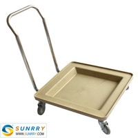 Very popular Restaurant Glass Tray Rack Trolley Dolly With Handle and Dishwasher Dolly with Handle (SY-CT10 SUNRRY)