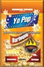 Yo Pop Snack Food Barbeque Microwave Popcorn
