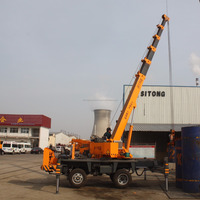 5 Ton telescopic boom slewing truck crane,5 ton mini hydraulic crane with CE/ISO