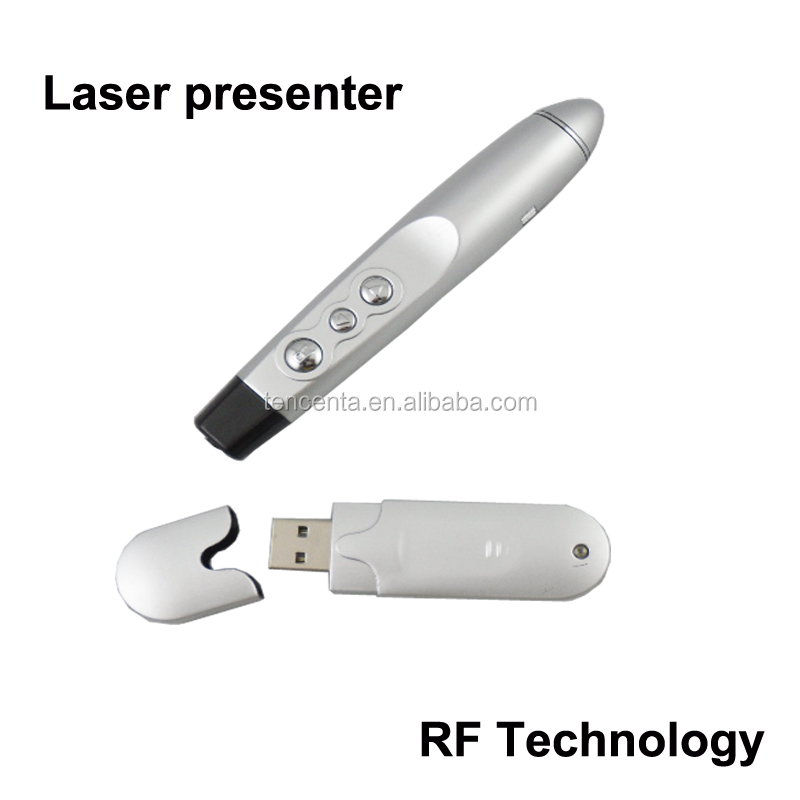 Promotional Laser Wireless Presenter with Slide Changer