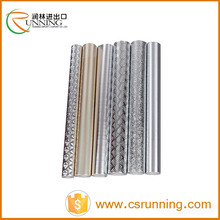 silver metallic self-adhesive film roll shinning 3D metal contact paper
