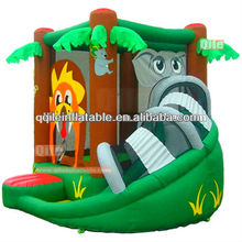 Qile-A045 backyard bouncer inflatable kids jumping castle for sale