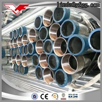 china supplier hot dipped galvanized carbon steel pipe standard length price list weight of gi pipe
