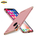For iphone x Case Phone 3 In 1 Ultra Thin PC Back Cover