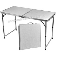 Outdoor aluminum folding picnic table with umbrella for sale