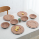 China unique restaurant claytan style tableware diner set dinnerware