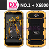 IP68 NO.1 X6800 Waterproof Shockproof 4G LTE Android 4.4 Smart Phone