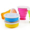 Portable Squeeze Sports Drink Water Bottle Silicone Foldable Cup