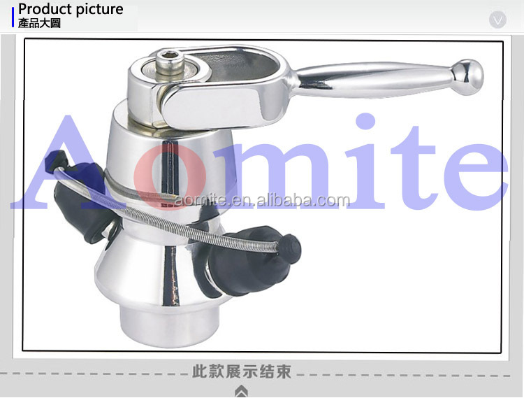 sanitary stainless steel aseptic sample valve made in china