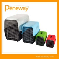 Plastic pet transport box outdoor dog house
