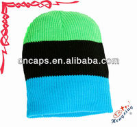 long ear knitted hat teenagers knitted hats 2013 fashion knitted long beanie hat