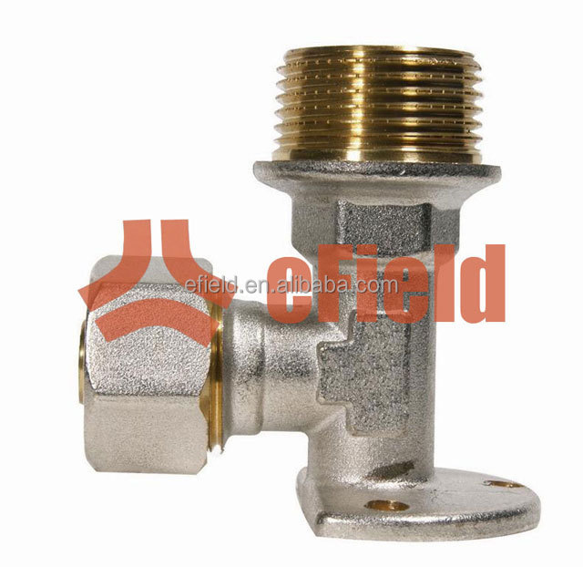 brass plumbing fittings for PEX Al PEX pipe