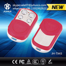 adjustable frequency Garage Door 4 button Universal remote control gate 433/315MHz JH-TX43