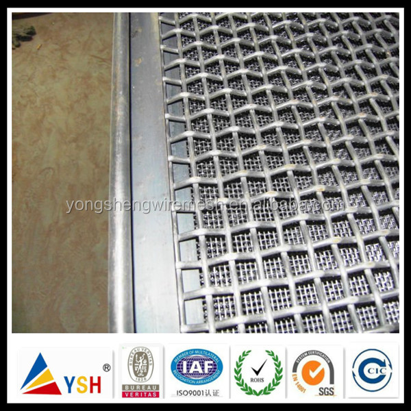 Wrapped Edge Crimped Wire Mesh With Low Price (24 Years Factory)