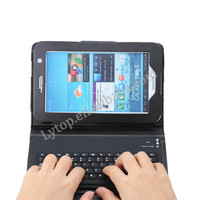 Tablet case with keyboard for Samsung Galaxy Tab 2 7.0 P3100,portable mini keyboard case for Samsung Galaxy Tab 2 7.0 P3100