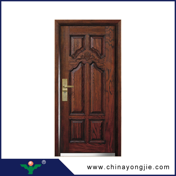 Zhejiang new product steel wooden armored lowes exterior doors