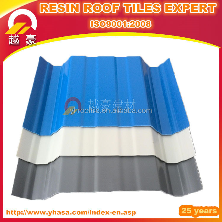 Anti-corrosion PVC Corrugated tile roof for poultry house