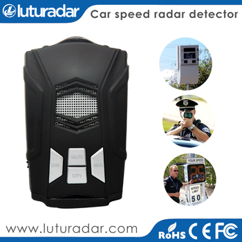 Original ANW Anti police car speed carmera GPS radar detector with 360 degree laser detection
