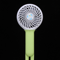 2017 Smart Mini USB Handheld Air Conditioner Speedless Battery Powered Desktop Hand Fan Cooling Four Optional Colors Outdoor Fan