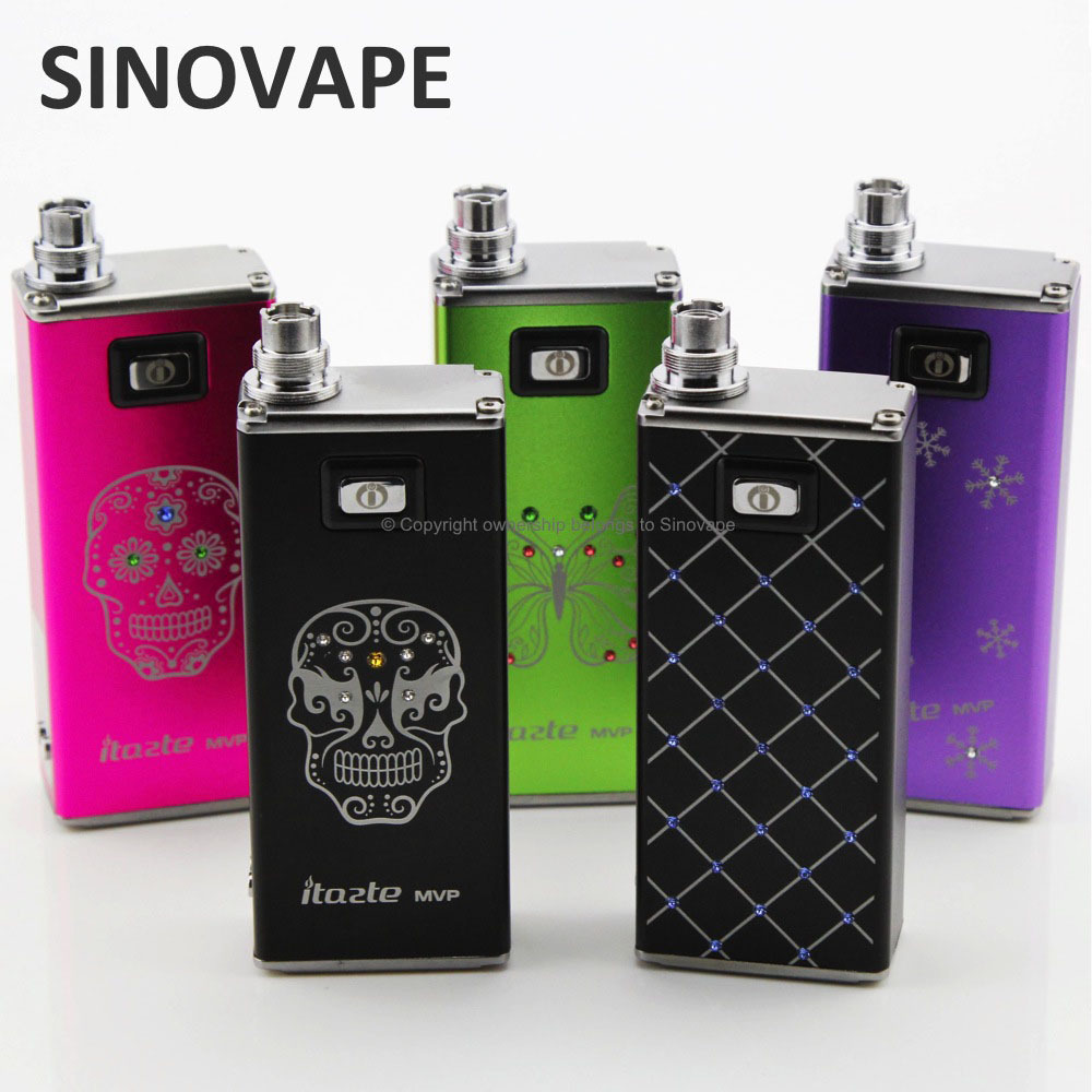Truly huge power and vapor 2600mah Innokin itaste mvp 2.0 shine edition made in China
