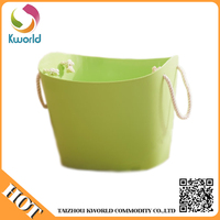 Professional manufacture cheap stackable laundry basket